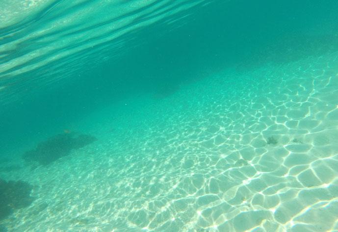 snorkeling naked siargao