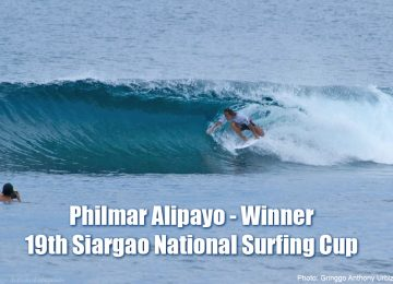 Philmar Alipayo wins 19th Siargao Surfing Cup 2017
